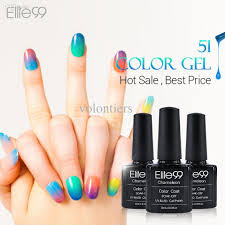 wholesale elite99 chameleon temperature change color uv gel