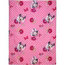 Minnie Mouse Bedspread Set Disney Minnie Mouse Bow Power 4 Piece Toddler Bedding Set