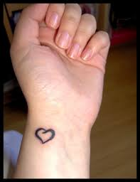 60 hearts tattoos for wrists