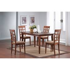 Walnut Dining Room Table Coaster Furniture 101771 Mix And Match Rectangle Leg Dining Table