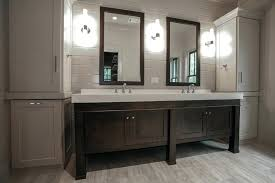 contemporary linen cabinet tall linen cabinets for bathroom tall