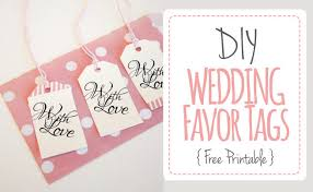 wedding tags for favors wedding favor tags with luggage tag printable