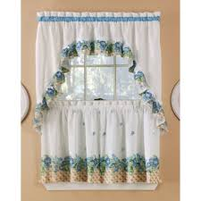 Turquoise Ruffle Curtains Sears Kitchen Ruffled Curtains Sets Kitchen Curtains Pinterest