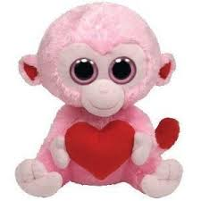 compare baby meme monkey 14 small plush ty beanie boos buddy