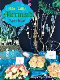 mermaid party ideas diy inspired