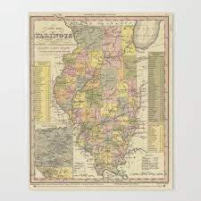 Route 66 Illinois Map by Illinois Map Promotion Shop For Promotional Illinois Map On