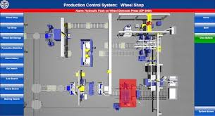 Machine Shop Floor Plan Railway Wheel Set Maintenance Shop Equipment Simmons Machine