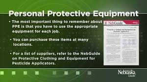 personal protective equipment for pesticide applicators youtube