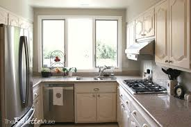 Enamel Kitchen Cabinets by The Best Way To Paint Kitchen Cabinets The Palette Muse