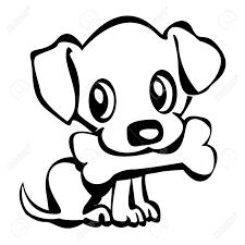 dog bone outline hvgj puppy pinterest dog bones wall stickers vinyl decal puppy dog pet animal cool decor for living room