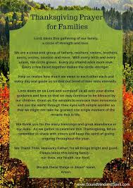 thanksgiving prayer for family best business template