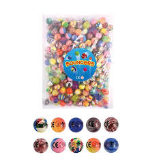 27mm bouncy balls pack of 20 amazon co uk toys u0026 games