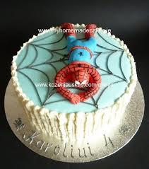 spiderman cake my homemade cakes