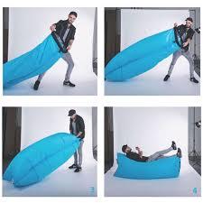 self inflating portable air sofa bed home u0026 furniture furniture