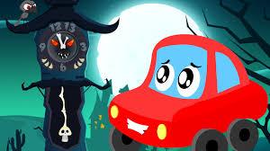 little red car the clock has struck thirteen halloween songs