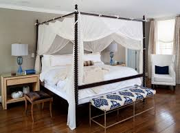Poster Bed Canopy Curtains Around Bed Between Function And Design