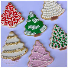 six different ways to decorate tree cookies dulcia bakery