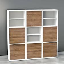 Coaster Bookshelf Bookcase Coaster Contemporary Asymmetrical Cube Bookcase