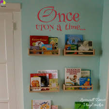compare prices on baby nursery wall stickers quotes online once upon a time saying quote wall sticker baby nursery kids room inspiration motivation quote wall