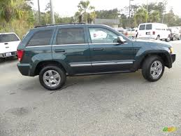 durango jeep 2000 deep beryl green pearl 2005 jeep grand cherokee limited exterior