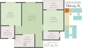 764 sq ft 2 bhk 2t apartment for sale in enerrgia skyi ventures