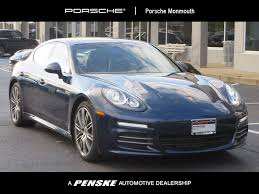 gray porsche panamera used porsche panamera at porsche monmouth serving new jersey