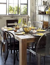 dining set crate and barrel big sur dining table dining room