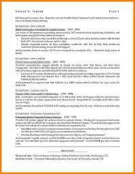 8 cv format it professional cashier resumes
