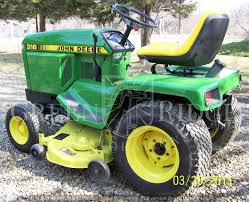 the u201clittle brother u201d to the 318 u2013 the john deere 316 lawn tractor