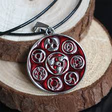 necklace accessories wholesale images Naruto sharingan necklace pendant cosplay jewelry wholesale jpg