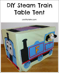 train table with cover steam train table tent
