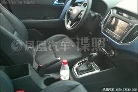 Hyundai Ix25 Interior Hyundai Ix25 Top End U0027sport U0027 Variant Spied In China