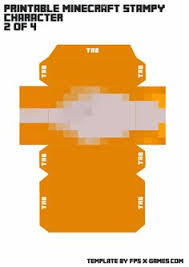 printable stampy mask template 1 of 5 quotes pinterest