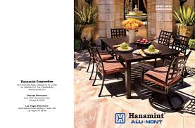 Hanamint Chateau by 2016 2017 Hanamint Catalog By Sunnyland Furniture Issuu