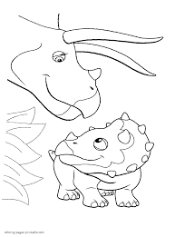 dinosaur train colouring pages for free