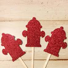 firefighter cupcake toppers popular firefighter party buy cheap firefighter party lots from
