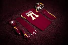 redskins aren u0027t going for gold with color rush uniforms on