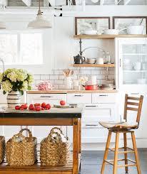 etabli cuisine 1001 idées pour aménager une cuisine cagne chic charmante