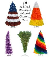 14 wild and wonderful artificial christmas trees u2013 mommyfriend