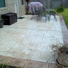 Stamped Concrete Patio Maintenance Stamped Concrete Stamped Artistry