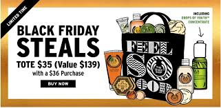 home depot totes black friday black friday the body shop limited edition tote 35 from 139