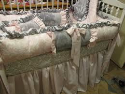 Crib Bedding For Girls Designer Crib Bedding Pattern With Birds Home Inspirations Design