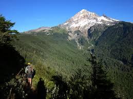 Mt Hood Trail Map The Timberline Trail Circumnavigating America U0027s Most Picturesque Peak