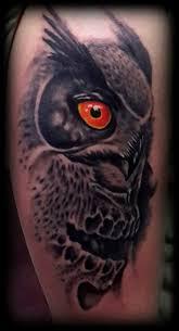 cele mai bune 25 de idei despre owl skull tattoos pe pinterest