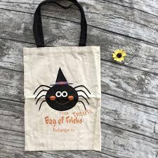 halloween bags cloth halloween buckets 8 design chevron halloween