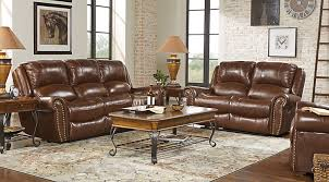 Leather Recliner Sofa And Loveseat Manual U0026 Power Reclining Living Room Sets With Sofas