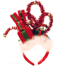 christmas headbands need to make something like this for sweater party