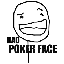 Meme Poker Face - s bad poker face meme decal