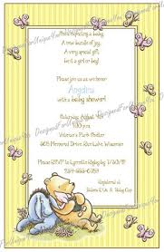 winnie the pooh baby shower invitations classic winnie the pooh baby shower invitations theruntime
