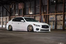 infiniti q50 2017 white jdm fan dream white infiniti q50 stanced out u2014 carid com gallery